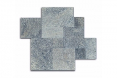 Silver Select Paver 1-1/4 Thick Available In 6x12, 16x16, 24x24, French Pattern & Coping