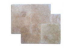 Walnut Select Paver 1-1/4 Thick Available In 4x8, 6x12, 12x12, 16x16, 16x24, 24x24, French Pattern & Coping