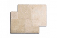 Ivory Select Paver 1-1/4 Thick Available in 4x8, 6x12, 8x8, 12x12, 12x24, 16x24, 24x24, French Pattern & Coping