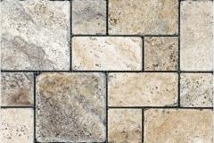 Picasso Tumbled Roman Pattern Mosaic