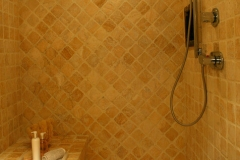 Gold 4x4 Tumbled, Also Available Mosaics/Trims 4x4, 3x6, 6x6, 8x8, 8x16, 16x16, 16x24, 24x24, Pool Pavers/Coping