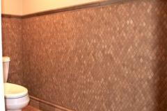 Mocha 1x2 Rhomboid 12x12 Mosaic